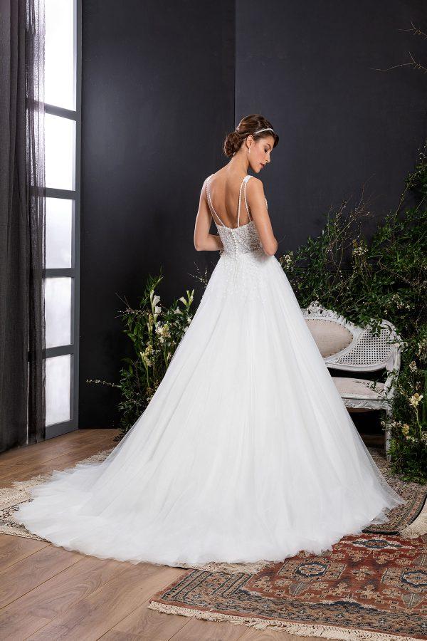 EGLANTINE CREATIONS 2021 Brautkleid EGC21 VALIA 0380 Brautmode in Berlin Avorio Vestito BrideStore and more