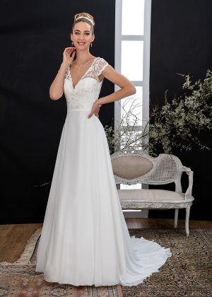 EGLANTINE CREATIONS 2021 Brautkleid EGC21 VALLAURIS 3815 Brautmode in Berlin Avorio Vestito BrideStore and more