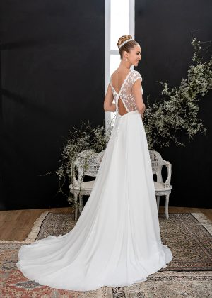 EGLANTINE CREATIONS 2021 Brautkleid EGC21 VALLAURIS 3852 Brautmode in Berlin Avorio Vestito BrideStore and more
