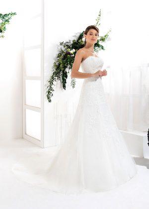 EGLANTINE CREATIONS 2021 Brautkleid EGC21 VANESSA 0036 Brautmode in Berlin Avorio Vestito BrideStore and more