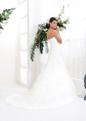 EGLANTINE CREATIONS 2021 Brautkleid EGC21 VANESSA 0084 Brautmode in Berlin Avorio Vestito BrideStore and more