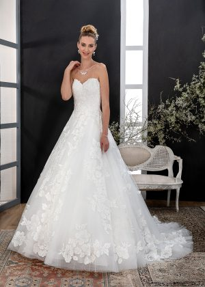 EGLANTINE CREATIONS 2021 Brautkleid EGC21 VANITE 4209 Brautmode in Berlin Avorio Vestito BrideStore and more