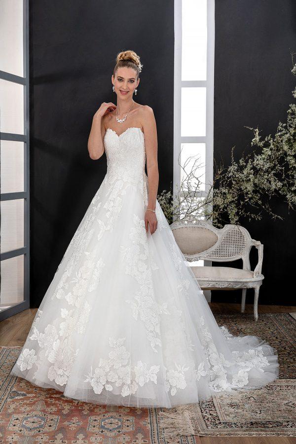 EGLANTINE CREATIONS 2021 Brautkleid EGC21 VANITE 4209 Brautmode in Berlin Avorio Vestito BrideStore and more