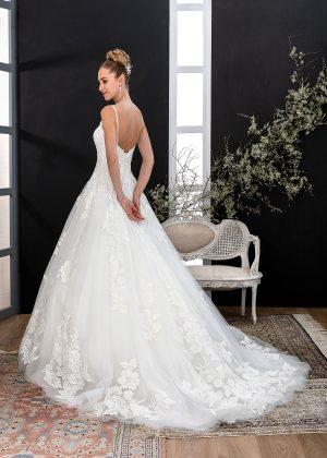 EGLANTINE CREATIONS 2021 Brautkleid EGC21 VANITE 4240 Brautmode in Berlin Avorio Vestito BrideStore and more
