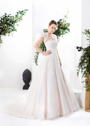 EGLANTINE CREATIONS 2021 Brautkleid EGC21 VAYANA 1072 Brautmode in Berlin Avorio Vestito BrideStore and more