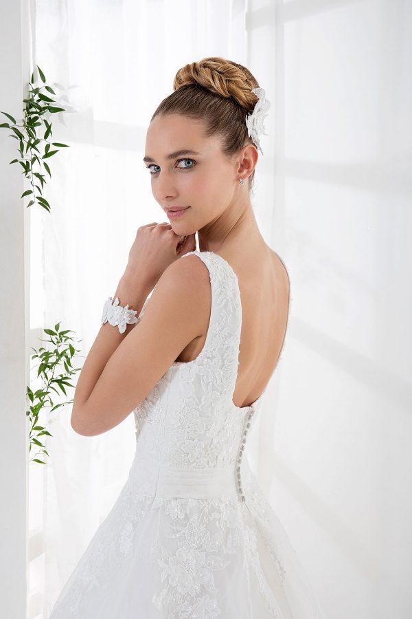 EGLANTINE CREATIONS 2021 Brautkleid EGC21 VEGETAL 4038 Brautmode in Berlin Avorio Vestito BrideStore and more