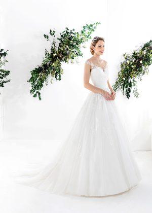 EGLANTINE CREATIONS 2021 Brautkleid EGC21 VELANCIA 2435 Brautmode in Berlin Avorio Vestito BrideStore and more