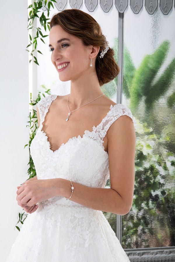 EGLANTINE CREATIONS 2021 Brautkleid EGC21 VENDEE 4431 Brautmode in Berlin Avorio Vestito BrideStore and more