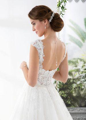 EGLANTINE CREATIONS 2021 Brautkleid EGC21 VENDEE 4468 Brautmode in Berlin Avorio Vestito BrideStore and more