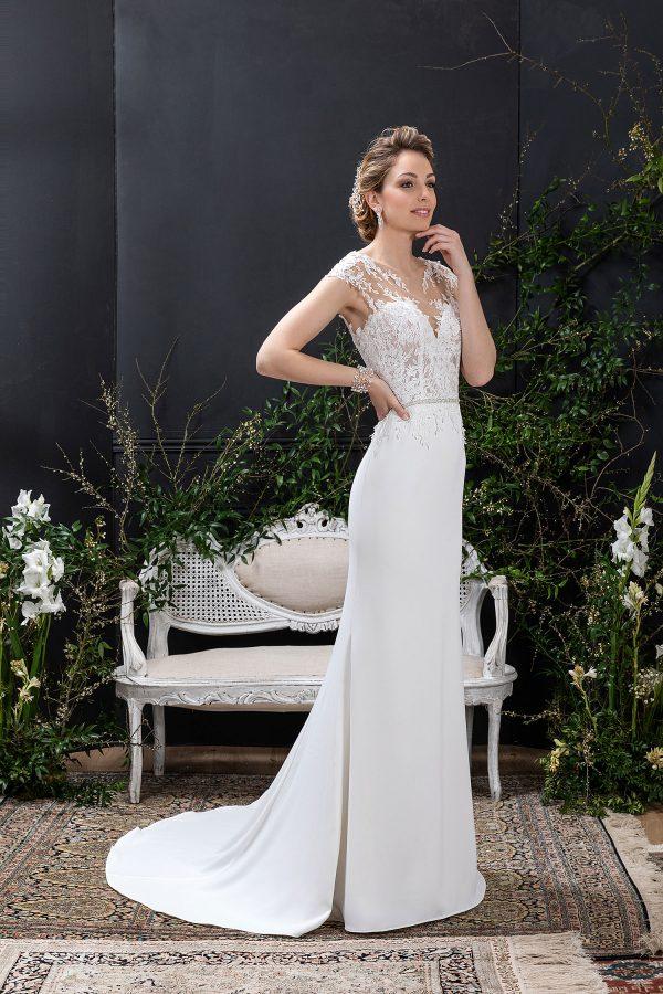 EGLANTINE CREATIONS 2021 Brautkleid EGC21 VENEZUELA 2021 Brautmode in Berlin Avorio Vestito BrideStore and more