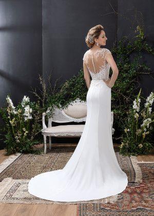 EGLANTINE CREATIONS 2021 Brautkleid EGC21 VENEZUELA 2076 Brautmode in Berlin Avorio Vestito BrideStore and more