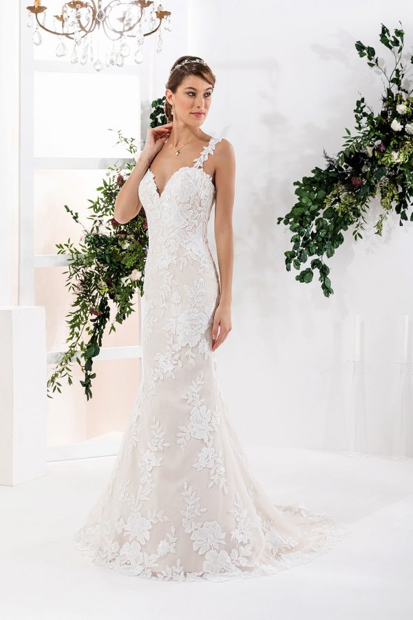 EGLANTINE CREATIONS 2021 Brautkleid EGC21 VERACRUZ 0414 Brautmode in Berlin Avorio Vestito BrideStore and more