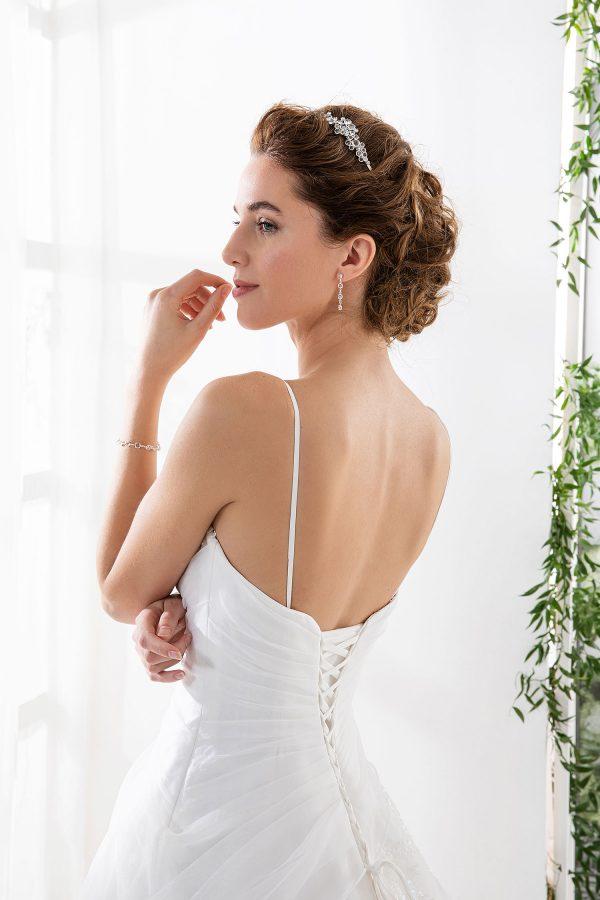 EGLANTINE CREATIONS 2021 Brautkleid EGC21 VERDICT 2814 Brautmode in Berlin Avorio Vestito BrideStore and more