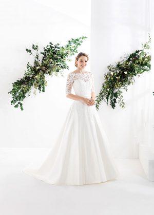 EGLANTINE CREATIONS 2021 Brautkleid EGC21 VERLAINE 2350 1 Brautmode in Berlin Avorio Vestito BrideStore and more
