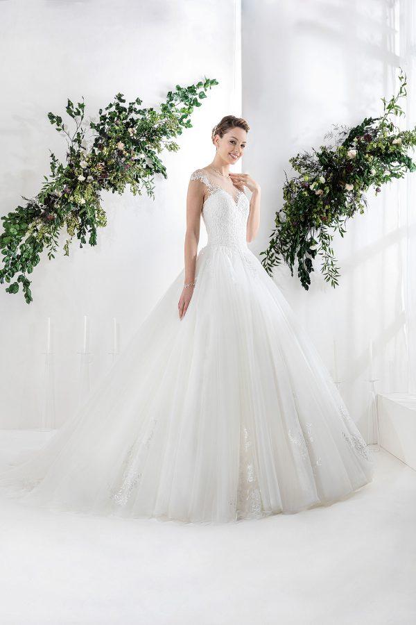 EGLANTINE CREATIONS 2021 Brautkleid EGC21 VERSAILLE 0828 Brautmode in Berlin Avorio Vestito BrideStore and more