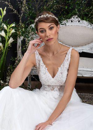 EGLANTINE CREATIONS 2021 Brautkleid EGC21 VERTUEUSE 0514 Brautmode in Berlin Avorio Vestito BrideStore and more