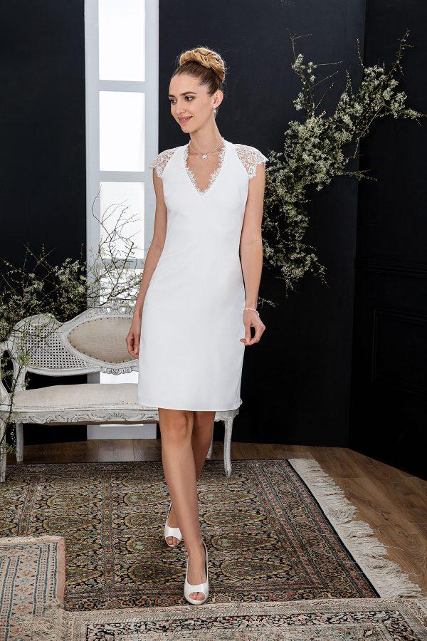 EGLANTINE CREATIONS 2021 Brautkleid EGC21 VERVEINE 4598 Brautmode in Berlin Avorio Vestito BrideStore and more