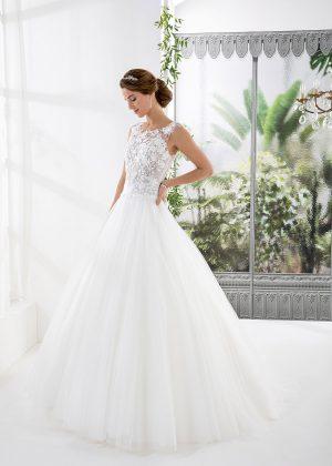 EGLANTINE CREATIONS 2021 Brautkleid EGC21 VESUVE 3890 Brautmode in Berlin Avorio Vestito BrideStore and more