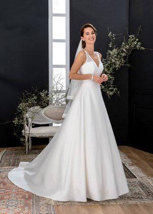 EGLANTINE CREATIONS 2021 Brautkleid EGC21 VIBRATION 4279 Brautmode in Berlin Avorio Vestito BrideStore and more