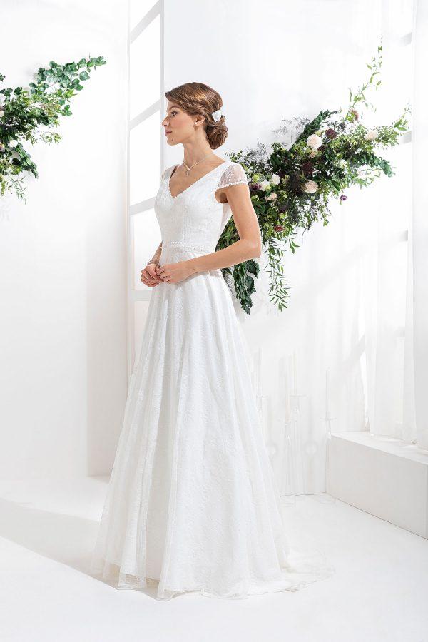 EGLANTINE CREATIONS 2021 Brautkleid EGC21 VICHY 0246 Brautmode in Berlin Avorio Vestito BrideStore and more