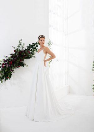 EGLANTINE CREATIONS 2021 Brautkleid EGC21 VICTORIA 3186 Brautmode in Berlin Avorio Vestito BrideStore and more