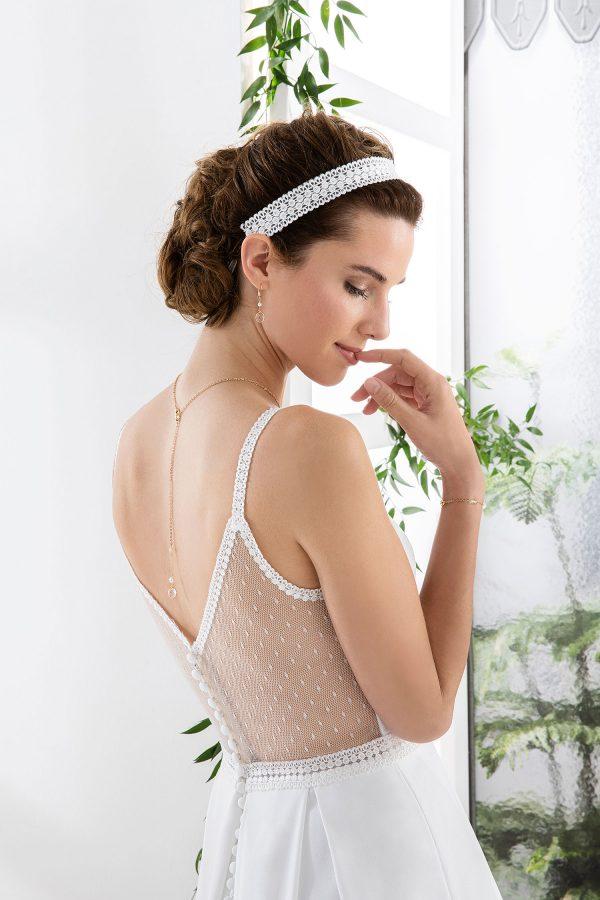 EGLANTINE CREATIONS 2021 Brautkleid EGC21 VICTORIA 3253 Brautmode in Berlin Avorio Vestito BrideStore and more