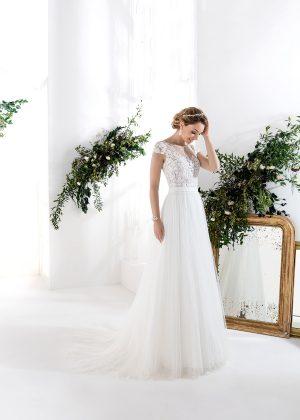 EGLANTINE CREATIONS 2021 Brautkleid EGC21 VIETNAM 2116 Brautmode in Berlin Avorio Vestito BrideStore and more