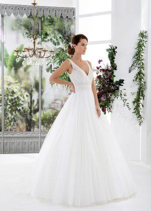 EGLANTINE CREATIONS 2021 Brautkleid EGC21 VINTAGE 4132 Brautmode in Berlin Avorio Vestito BrideStore and more