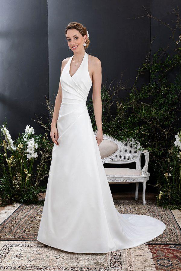 EGLANTINE CREATIONS 2021 Brautkleid EGC21 VIRTUELLE 2584 Brautmode in Berlin Avorio Vestito BrideStore and more