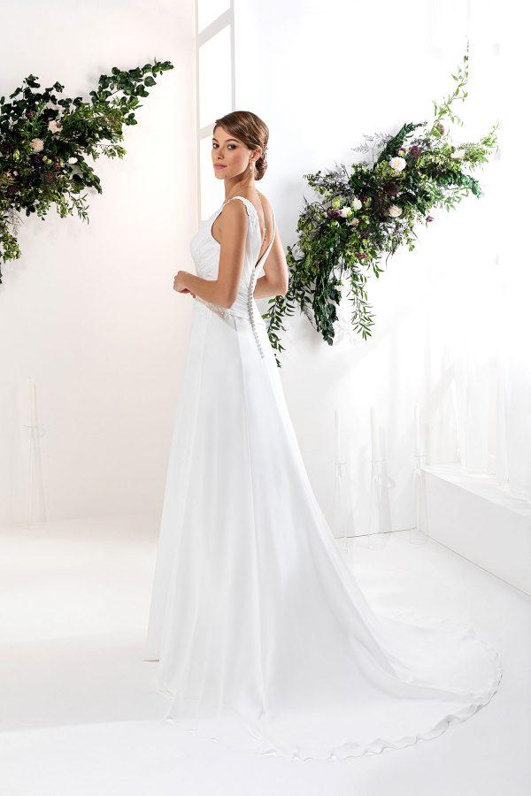 EGLANTINE CREATIONS 2021 Brautkleid EGC21 VISION 0587 Brautmode in Berlin Avorio Vestito BrideStore and more