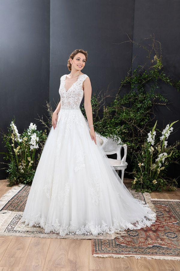 EGLANTINE CREATIONS 2021 Brautkleid EGC21 VOLUPTUEUSE 2529 Brautmode in Berlin Avorio Vestito BrideStore and more