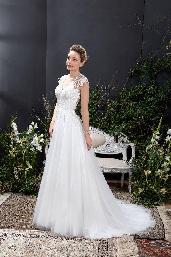 EGLANTINE CREATIONS 2021 Brautkleid EGC21 VOYAGE 1554 Brautmode in Berlin Avorio Vestito BrideStore and more