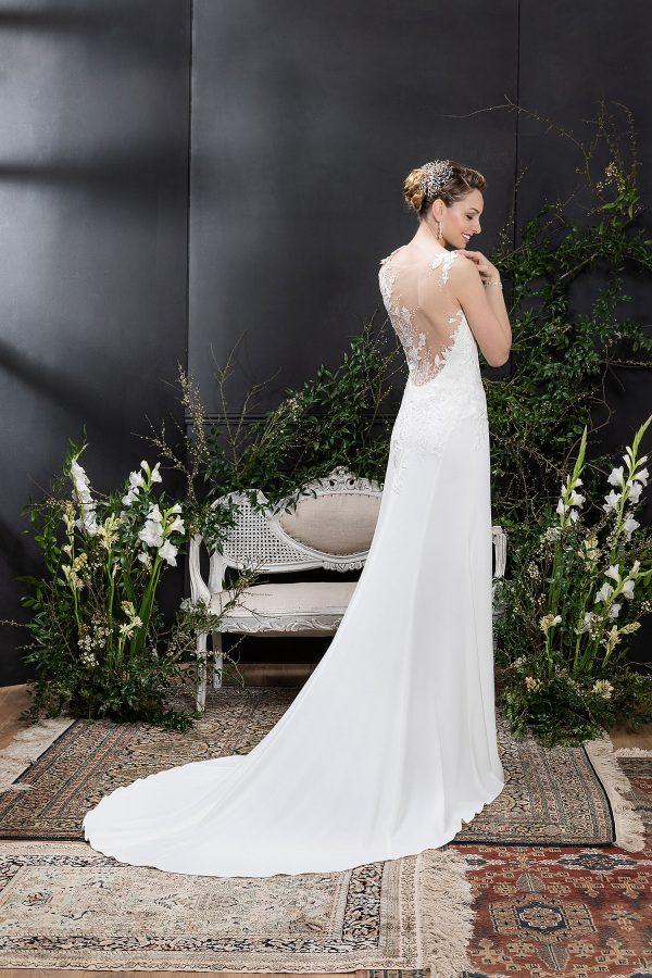 EGLANTINE CREATIONS 2021 Brautkleid EGC21 VOYANCE 0927 Brautmode in Berlin Avorio Vestito BrideStore and more