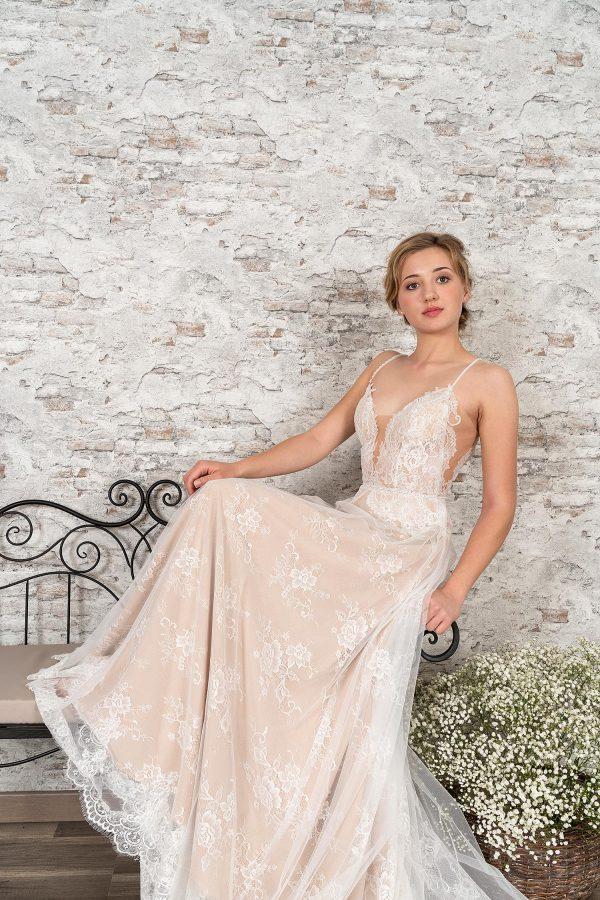 Fuchs Moden 2021 Brautkleid D 03357 (5) Brautmode in Berlin Avorio Vestito BrideStore and more