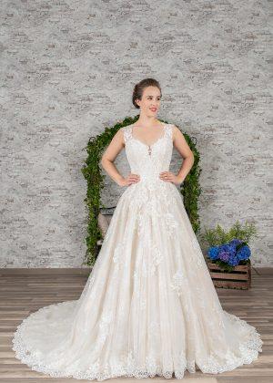 Fuchs Moden 2021 Brautkleid D 03359 (1) Brautmode in Berlin Avorio Vestito BrideStore and more