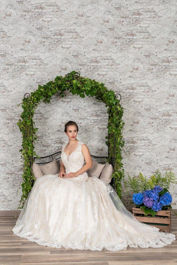 Fuchs Moden 2021 Brautkleid D 03359 (4) Brautmode in Berlin Avorio Vestito BrideStore and more