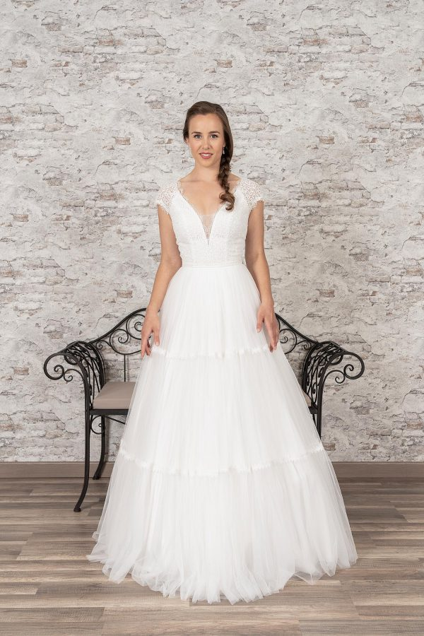 Fuchs Moden 2021 Brautkleid D 03362 (1) Brautmode in Berlin Avorio Vestito BrideStore and more