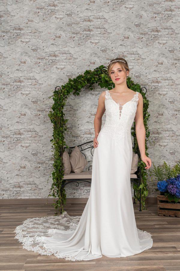Fuchs Moden 2021 Brautkleid D 03363 (1) Brautmode in Berlin Avorio Vestito BrideStore and more