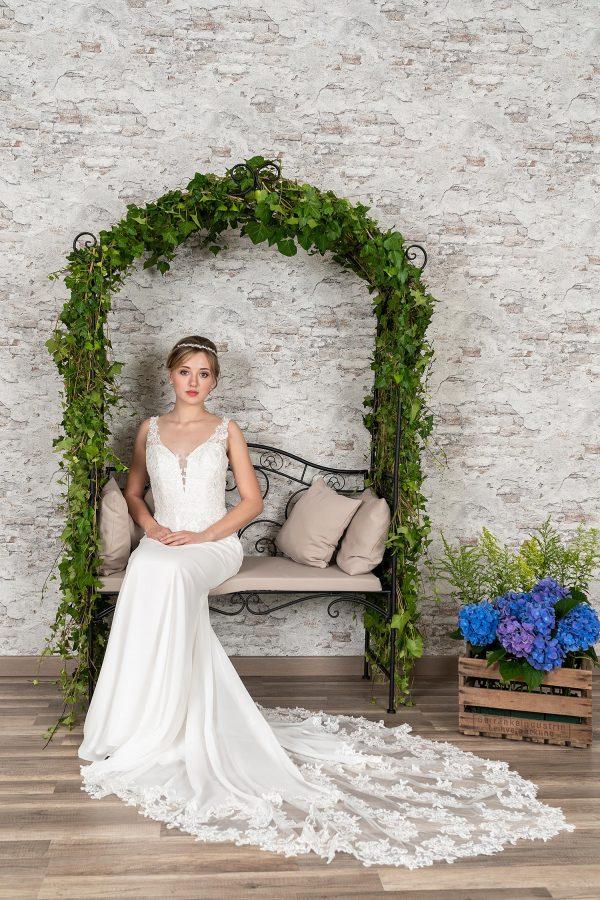 Fuchs Moden 2021 Brautkleid D 03363 (4) Brautmode in Berlin Avorio Vestito BrideStore and more