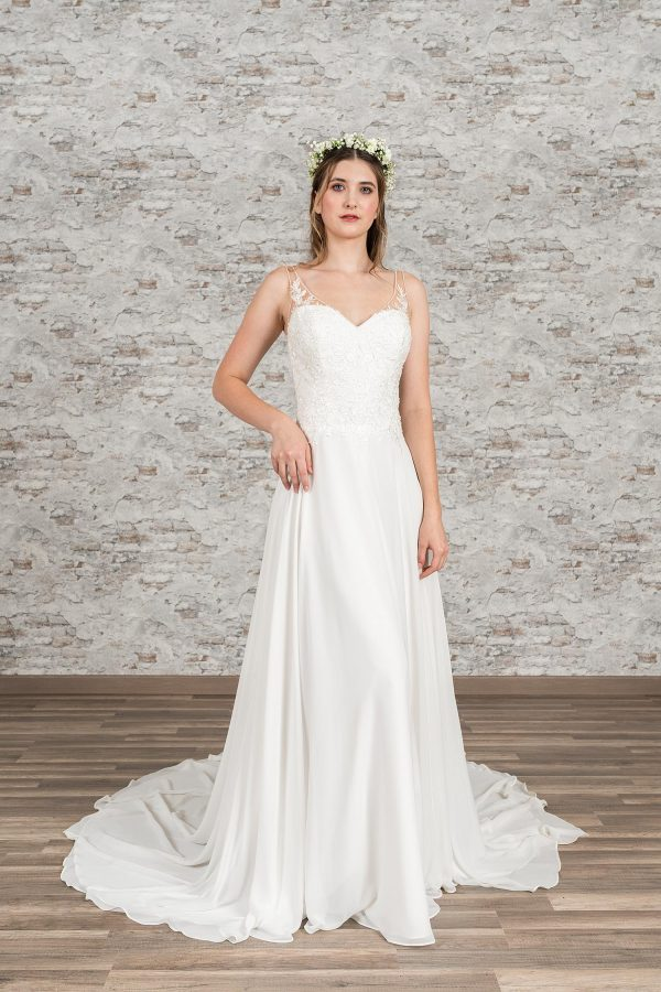 Fuchs Moden 2021 Brautkleid D 03366 (1) Brautmode in Berlin Avorio Vestito BrideStore and more