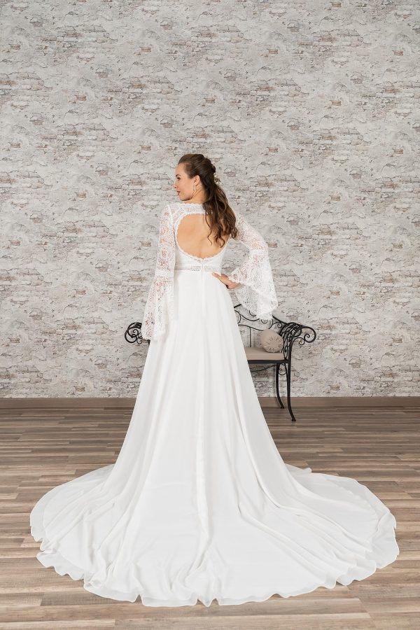 Fuchs Moden 2021 Brautkleid D 03369 (2) Brautmode in Berlin Avorio Vestito BrideStore and more