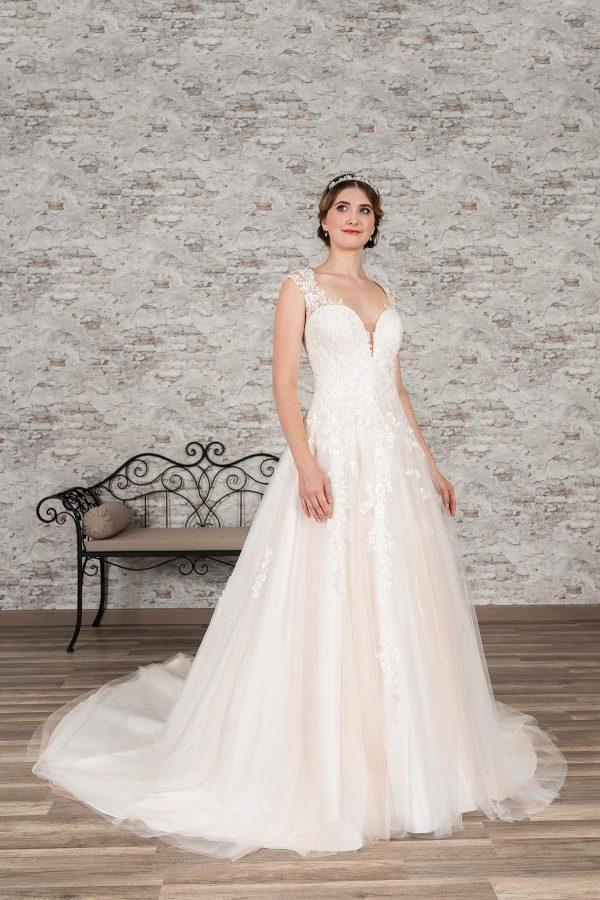 Fuchs Moden 2021 Brautkleid D 03371 (1) Brautmode in Berlin Avorio Vestito BrideStore and more