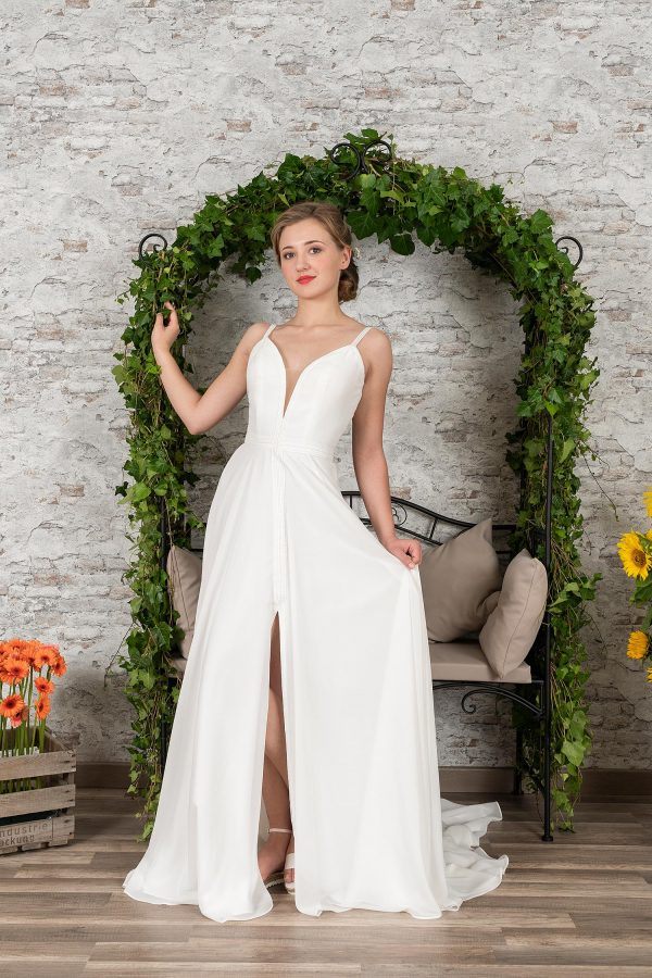 Fuchs Moden 2021 Brautkleid D 03376 (1) Brautmode in Berlin Avorio Vestito BrideStore and more