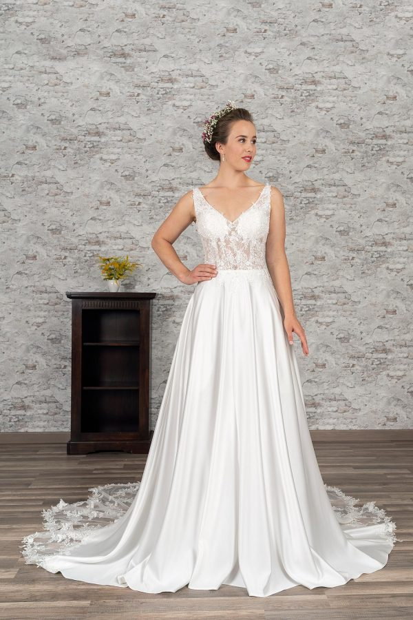 Fuchs Moden 2021 Brautkleid D 03382 (1) Brautmode in Berlin Avorio Vestito BrideStore and more