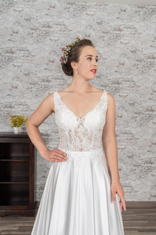 Fuchs Moden 2021 Brautkleid D 03382 (3) Brautmode in Berlin Avorio Vestito BrideStore and more