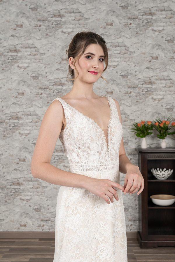 Fuchs Moden 2021 Brautkleid D 03384 (3) Brautmode in Berlin Avorio Vestito BrideStore and more