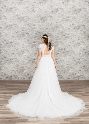 Fuchs Moden 2021 Brautkleid D 03385 (2) Brautmode in Berlin Avorio Vestito BrideStore and more