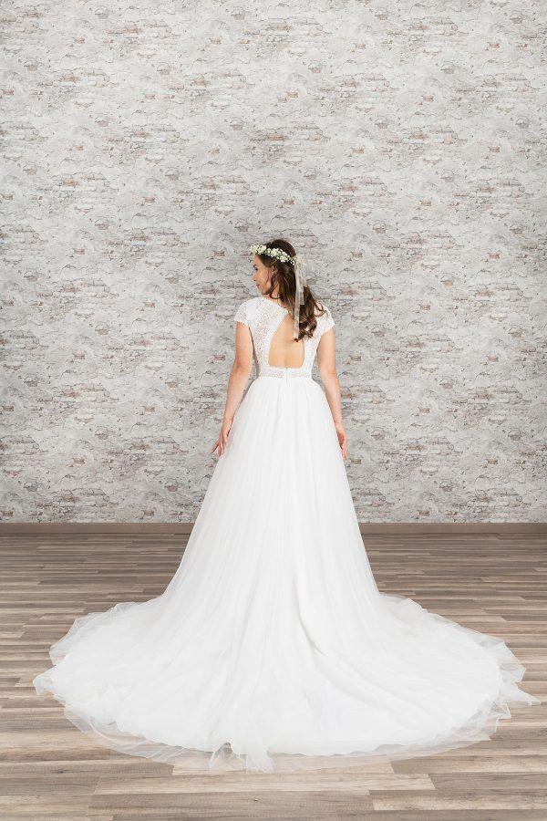 Fuchs Moden 2021 Brautkleid D 03385 (2) Brautmode in Berlin Avorio Vestito BrideStore and more