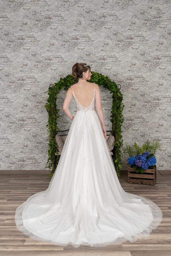 Fuchs Moden 2021 Brautkleid D 03386 (2) Brautmode in Berlin Avorio Vestito BrideStore and more