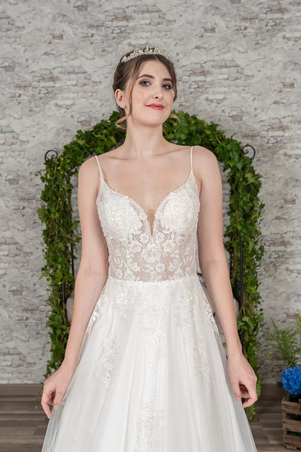 Fuchs Moden 2021 Brautkleid D 03386 (3) Brautmode in Berlin Avorio Vestito BrideStore and more